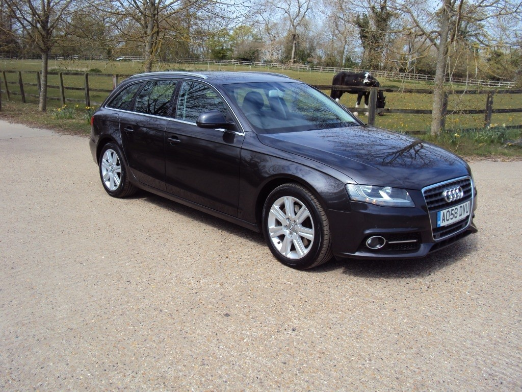 used Audi A4 AVANT TDI SE in suffolk
