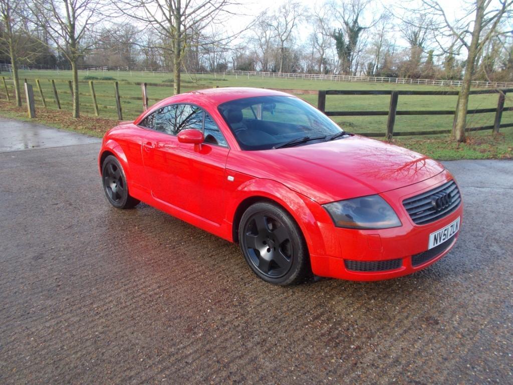 used Audi TT 225 quattro in suffolk