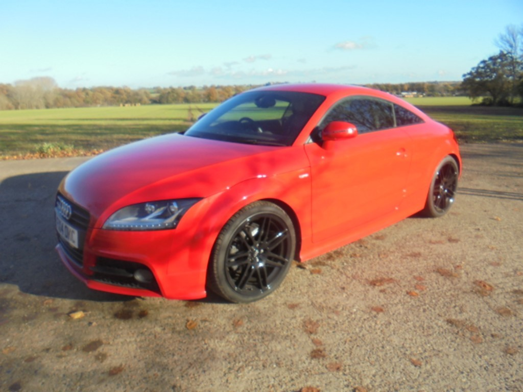 used Audi TT TDI QUATTRO BLACK EDITION in suffolk