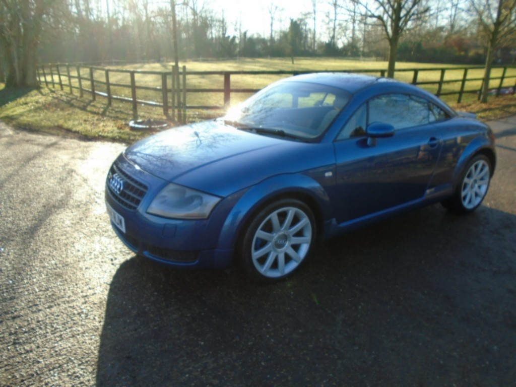 used Audi TT QUATTRO (225BHP) in suffolk