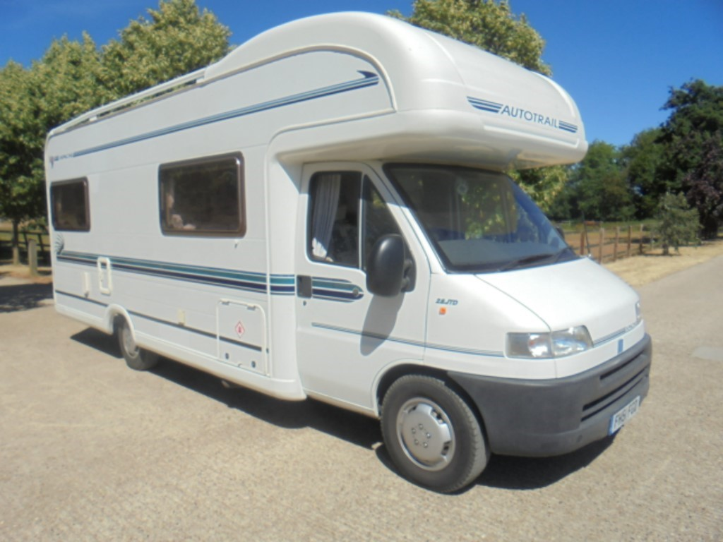 used Autotrail Apache 700 in suffolk