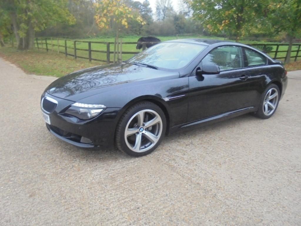 used BMW 635d 635D SPORT in suffolk