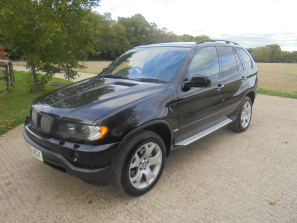 used BMW X5 SPORT 3.0 TD in suffolk