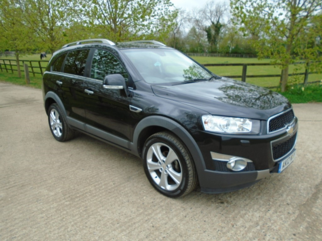 used Chevrolet Captiva VCDI LTZ in suffolk