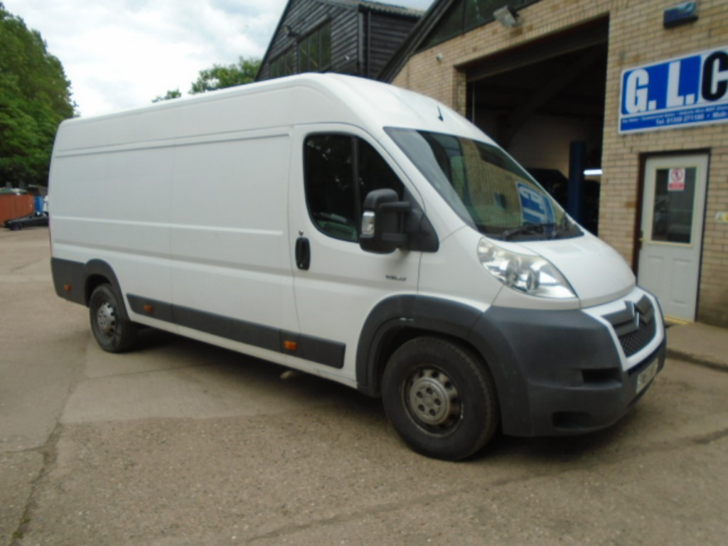 used Citroen Relay 35 L4H2 120 XLWB HR PV in suffolk