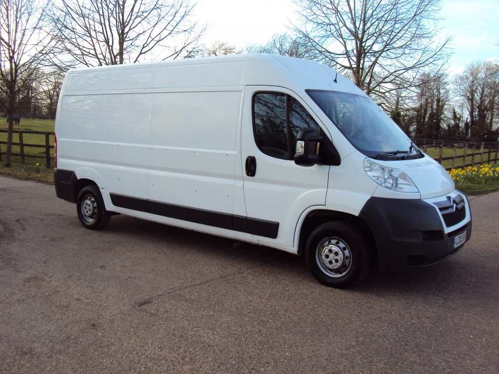 used Citroen Relay 35 L3H2 120 LWB HR PV in suffolk