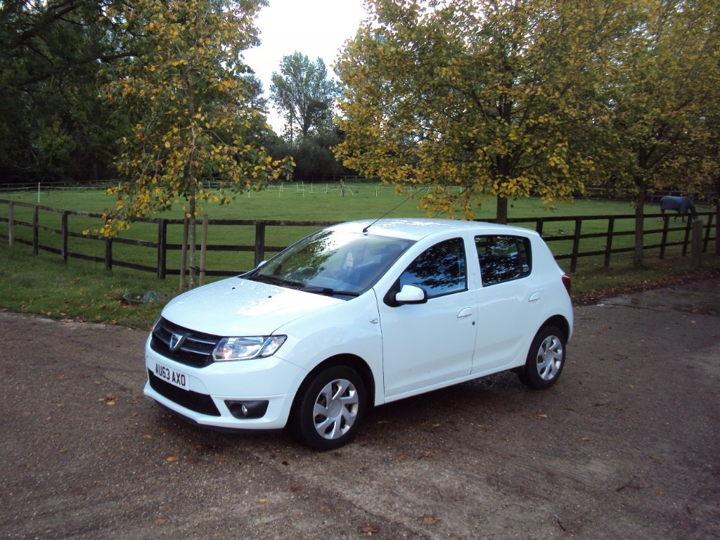 used Dacia Sandero LAUREATE TCE in suffolk