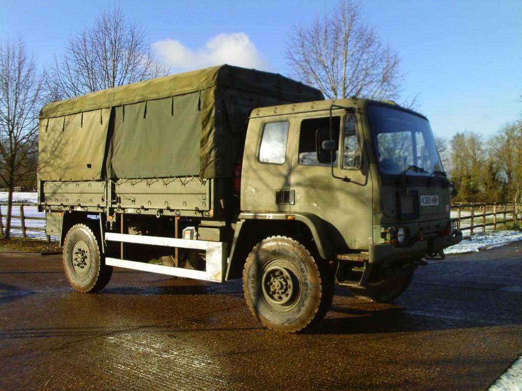 used DAF LF45 4X4 EX ARMY in suffolk