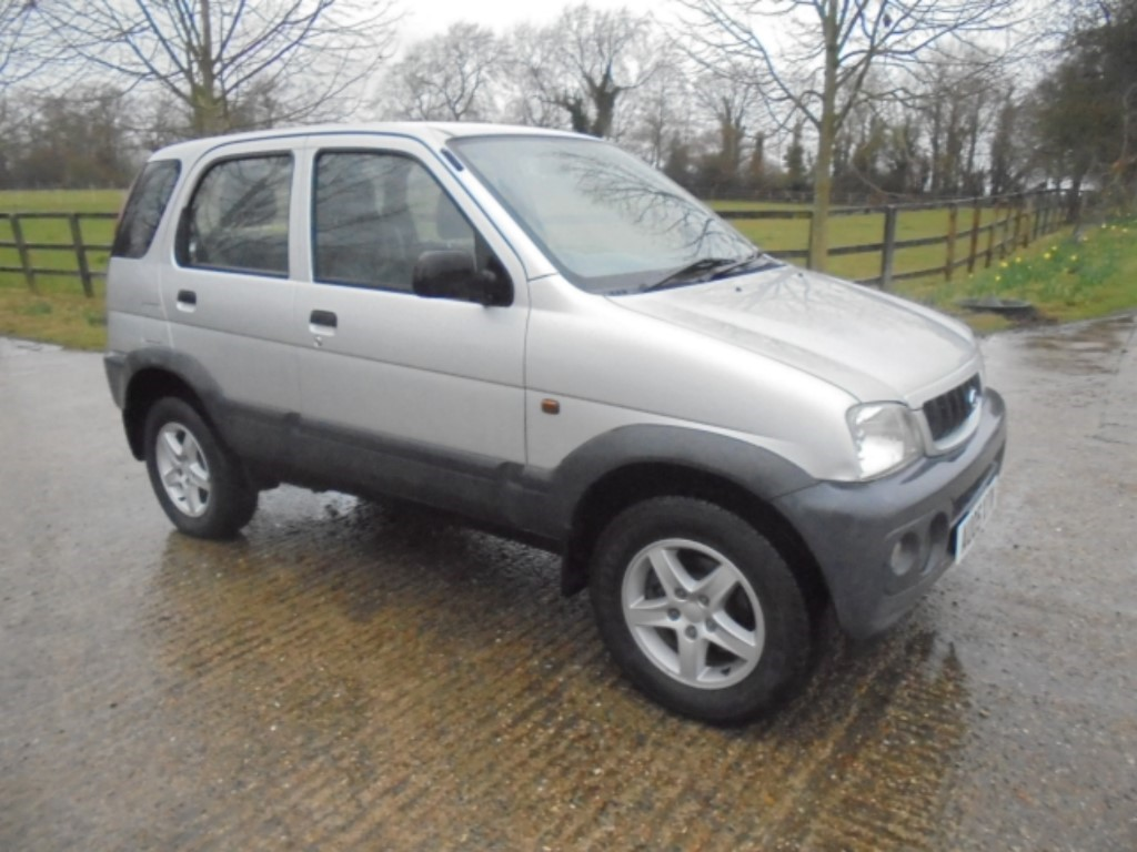 used Daihatsu Terios TRACKER in suffolk
