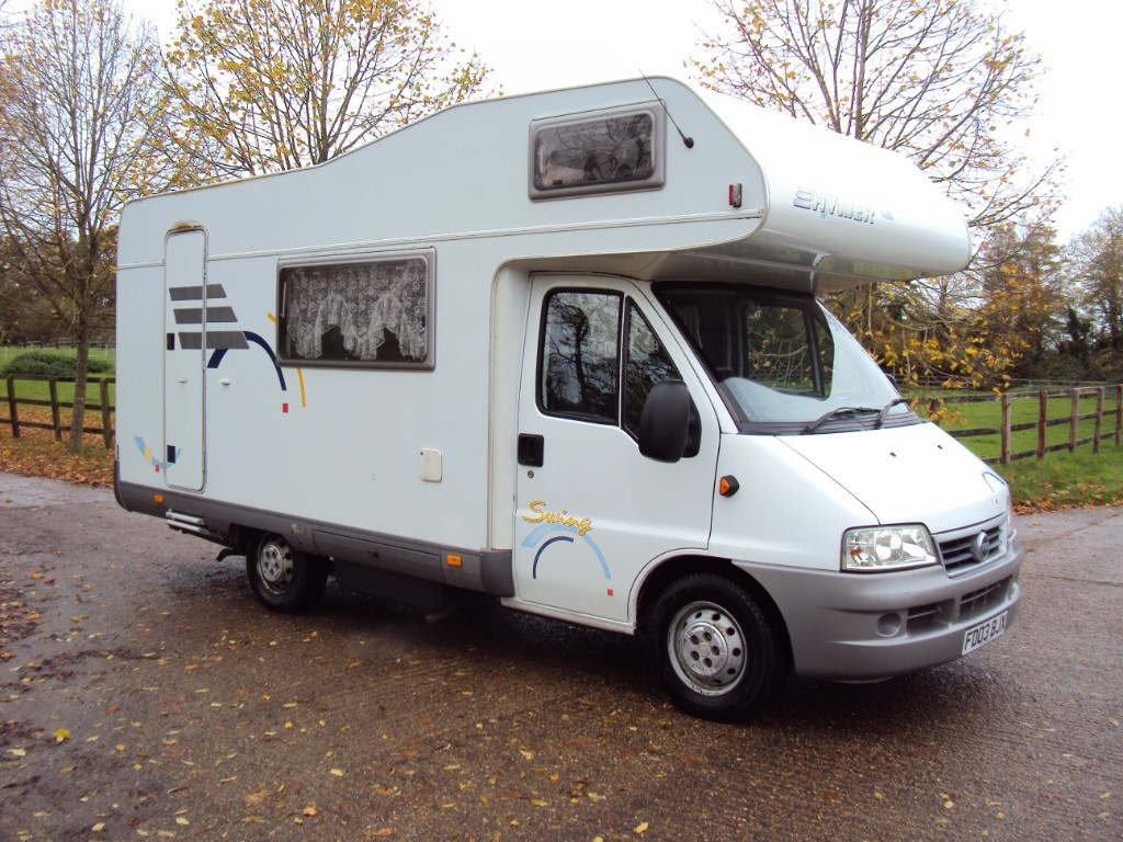 used Fiat Ducato HYMER SWING in suffolk