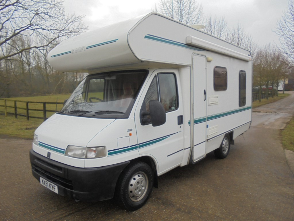 used Fiat Ducato 2.8D SWIFT SUNDANCE in suffolk