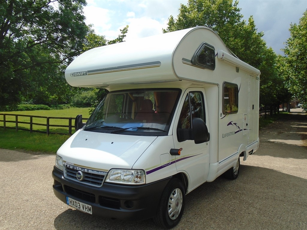 used Fiat Ducato SWIFT LIFESTYLE 530L in suffolk