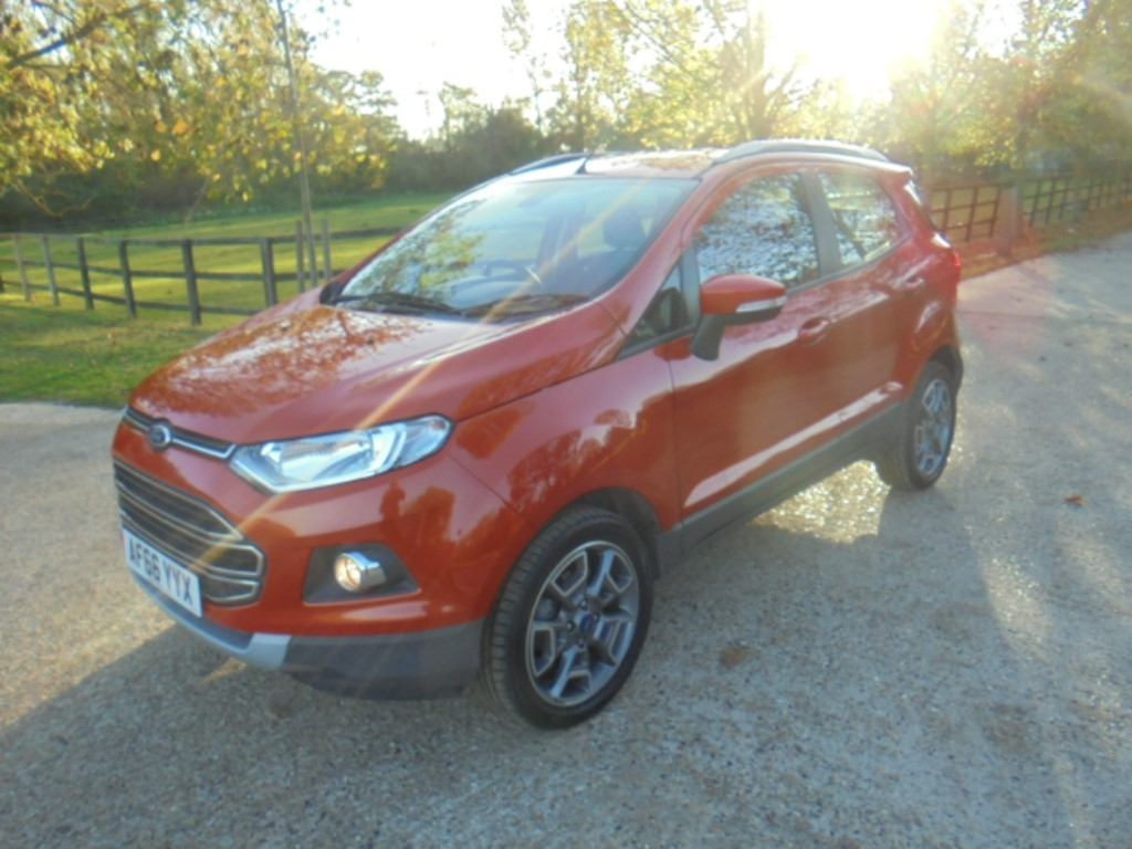 used Ford EcoSport TITANIUM in suffolk
