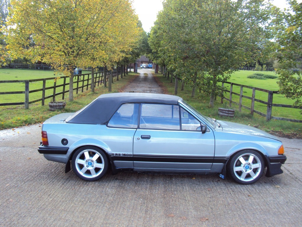 used Ford Escort XR3i in suffolk