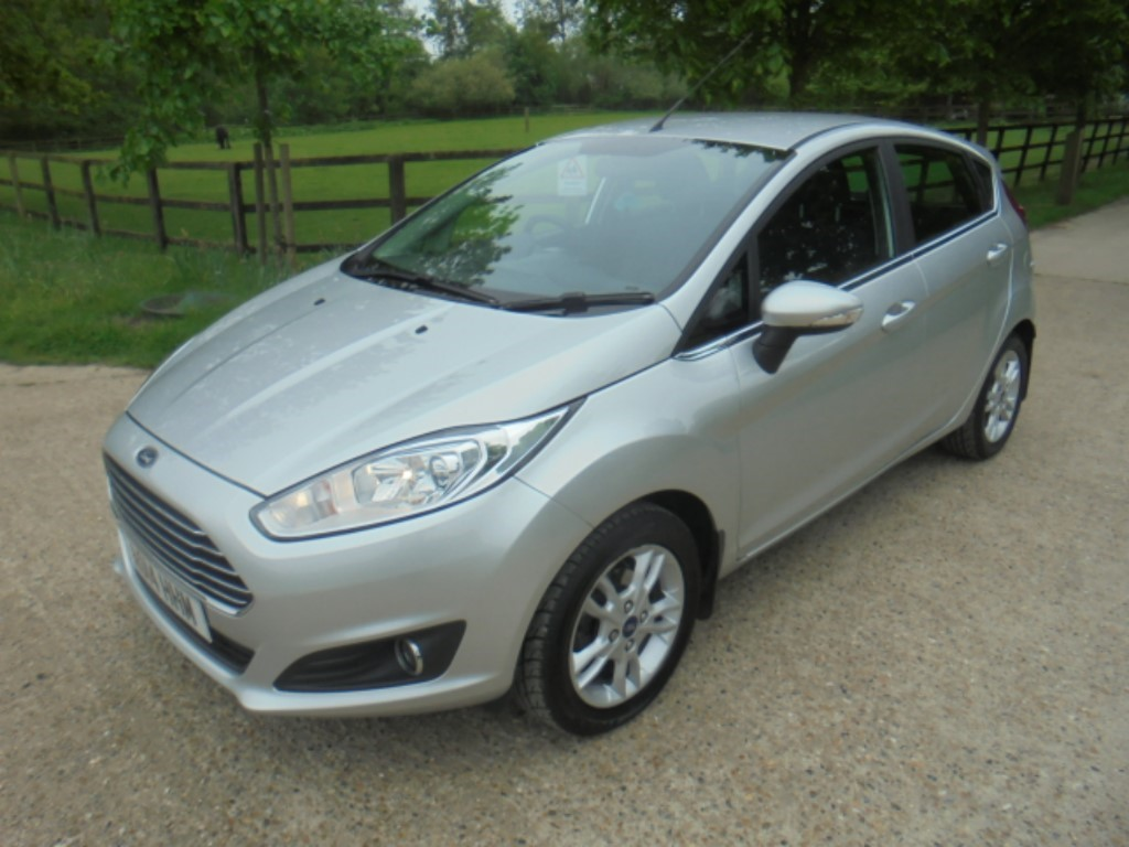 used Ford Fiesta ZETEC TDCI in suffolk