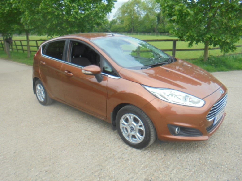 used Ford Fiesta TITANIUM ECONETIC TDCI in suffolk