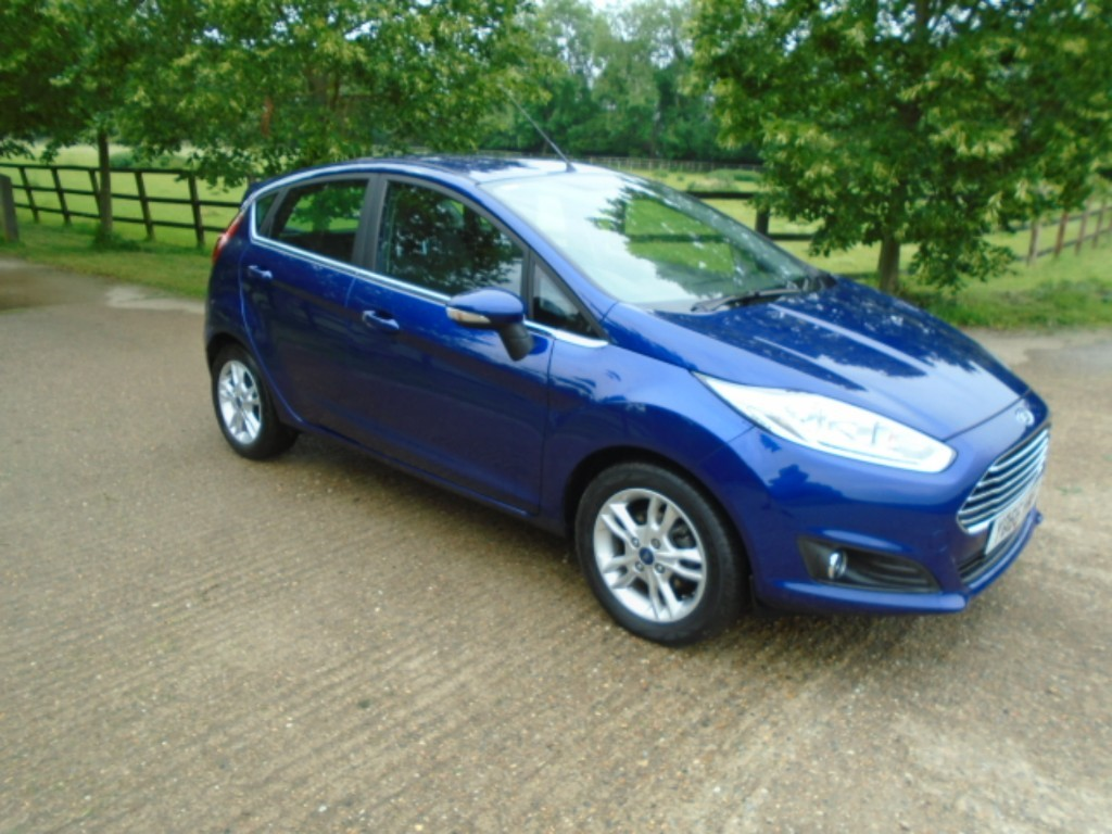 used Ford Fiesta ZETEC in suffolk