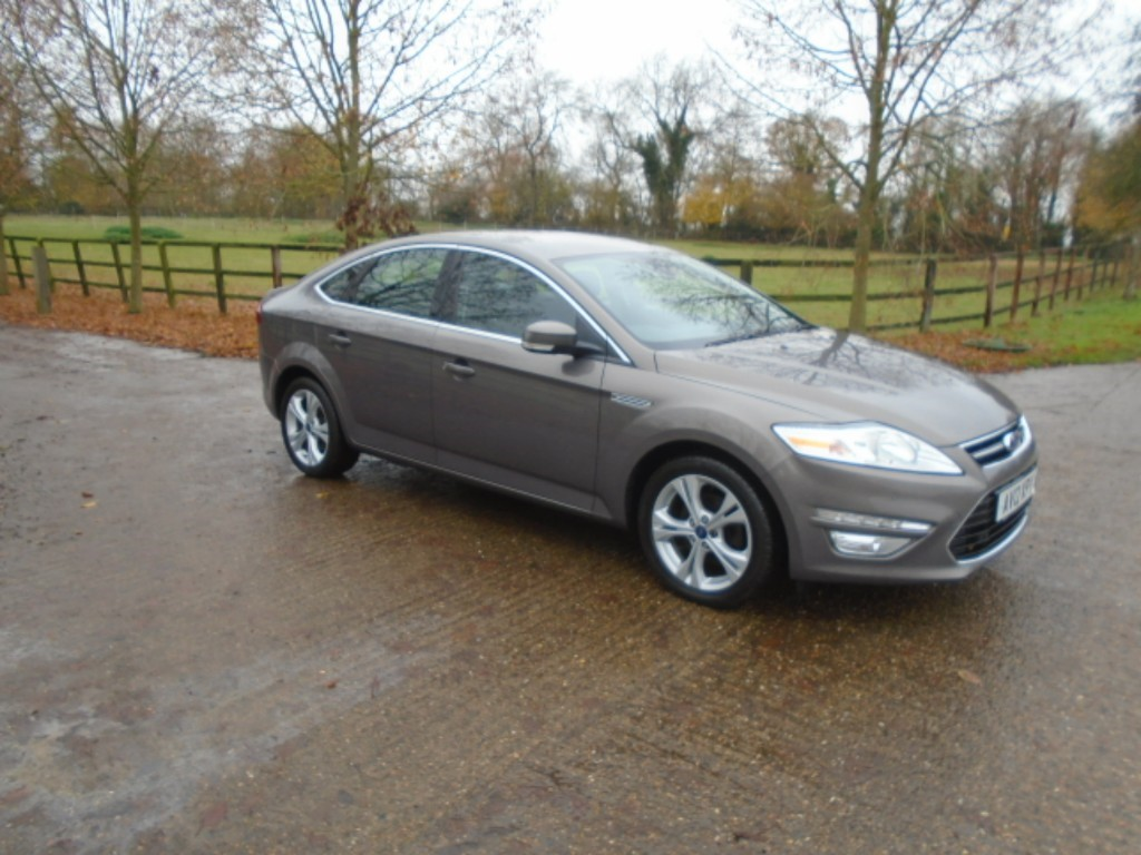used Ford Mondeo TITANIUM TDCI in suffolk