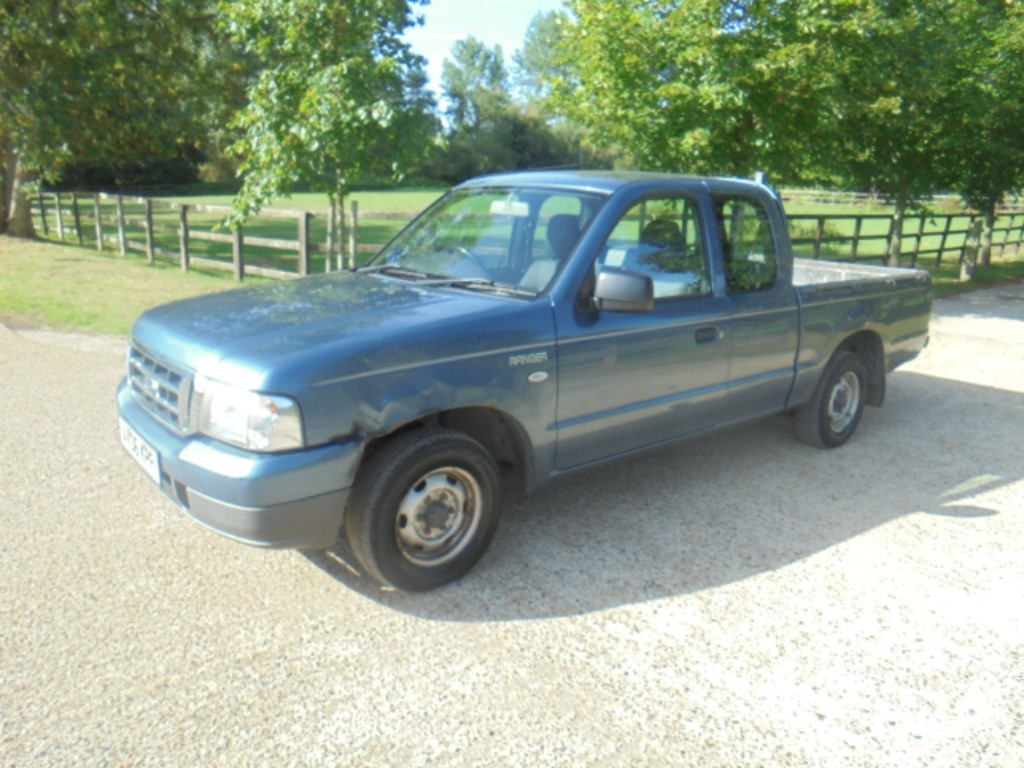 used Ford Ranger SUPER CAB 4X2 2.5D in suffolk
