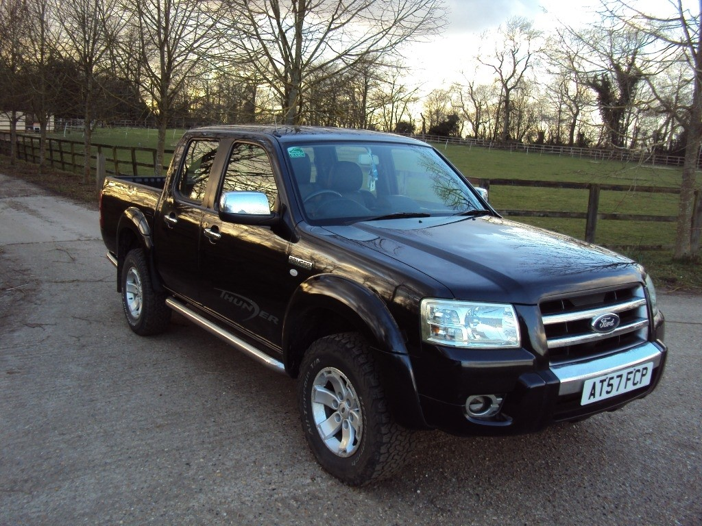 used Ford Ranger THUNDER DCB 4X4 in suffolk