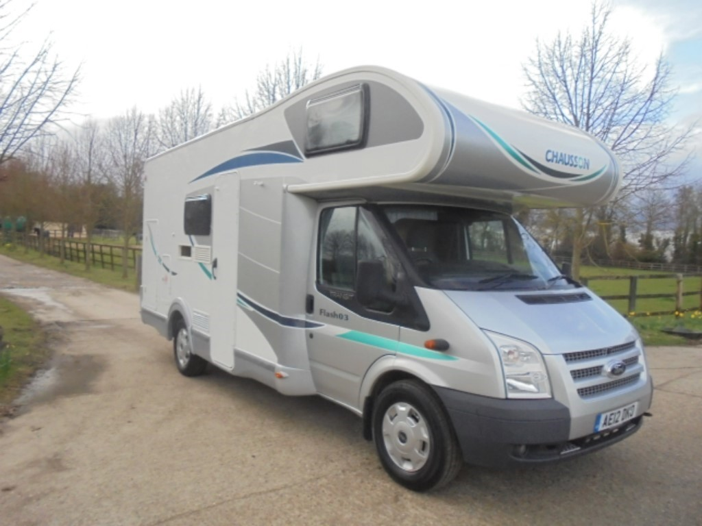 used Ford Transit CHAUSSON FLASH 03 in suffolk