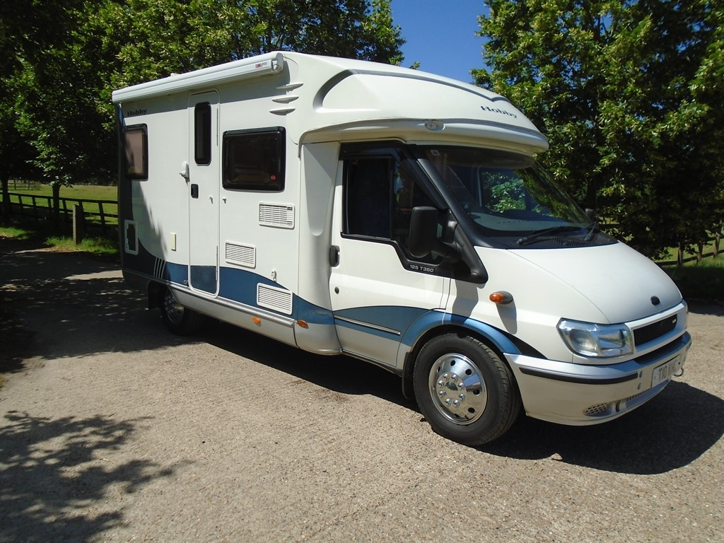 used Ford Transit HOBBY 550 FIXED BED in suffolk