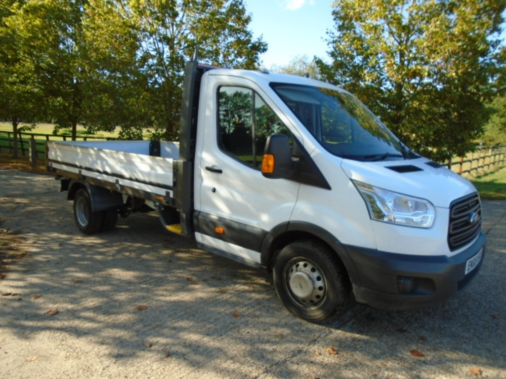 used Ford Transit 350 C/C DRW DROPSIDE in suffolk
