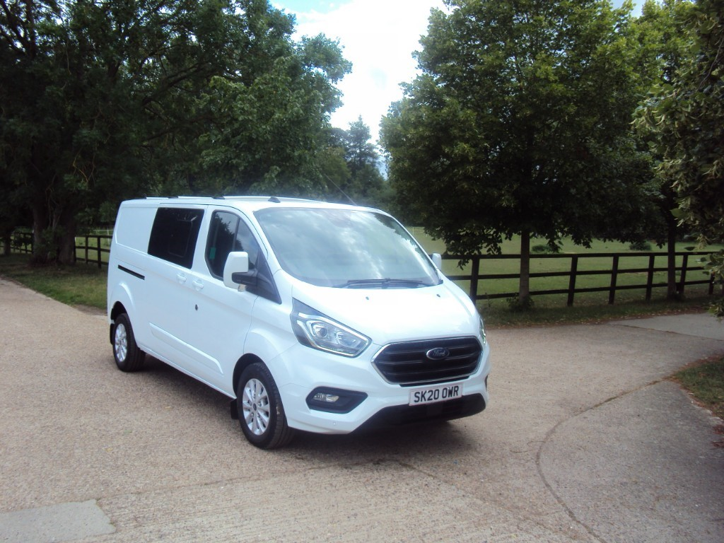 used Ford Transit Custom 300 LIMITED DCIV ECOBLUE in suffolk