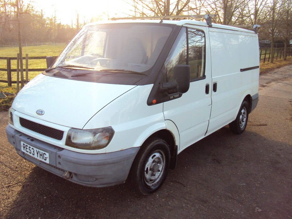 used Ford Transit 280 SWB P/V in suffolk