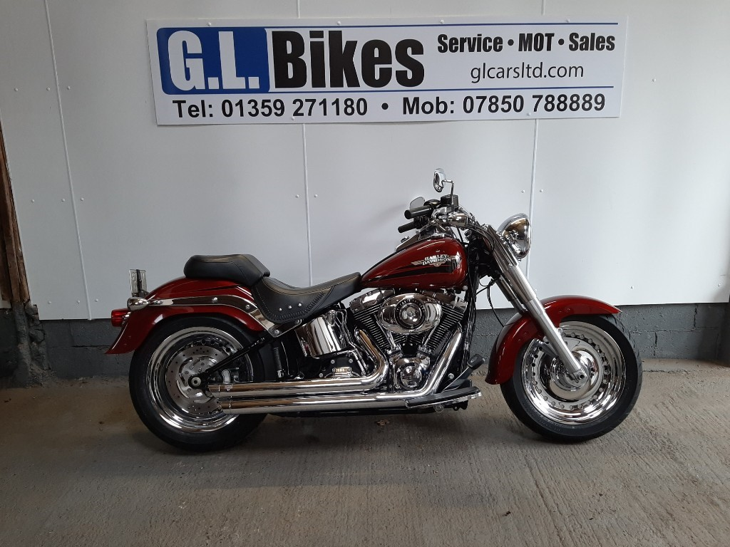 used Harley-Davidson SOFTAIL FLSTF FATBOY in suffolk