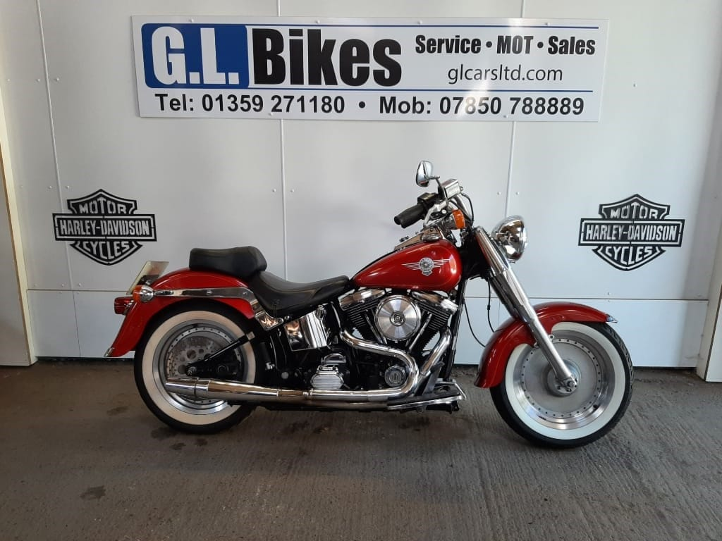 used Harley-Davidson SOFTAIL FLSTF FAT BOY in suffolk