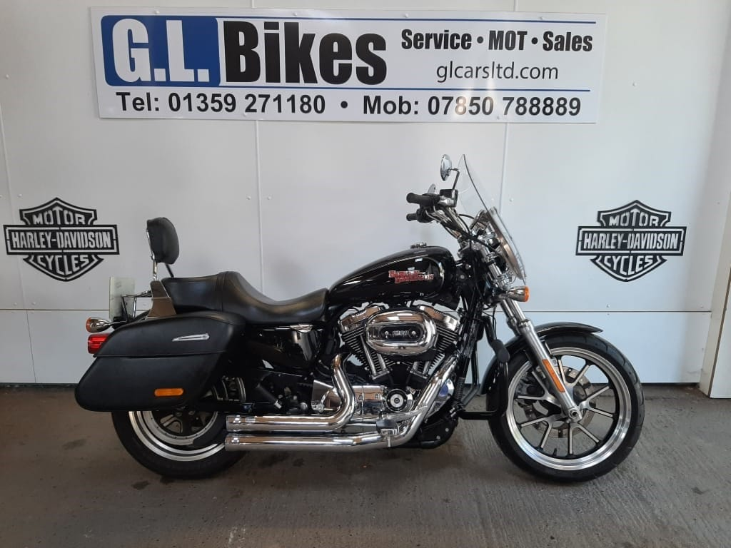 used Harley-Davidson Sportster 1200 SUPERLOW TOURING in suffolk