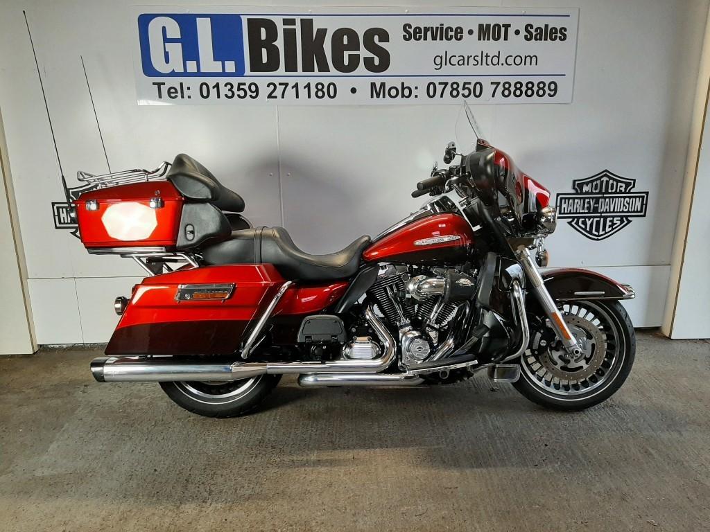 used Harley-Davidson Touring FLHTK ULTRA LTD in suffolk