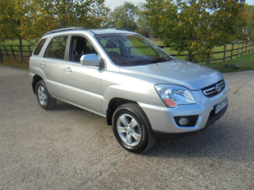 used Kia Sportage CRDI XE in suffolk