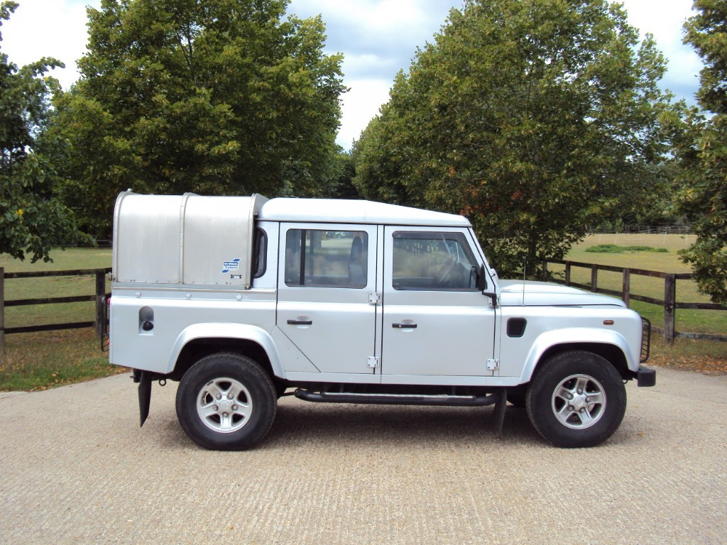 used Land Rover Defender COUNTY DCB in suffolk
