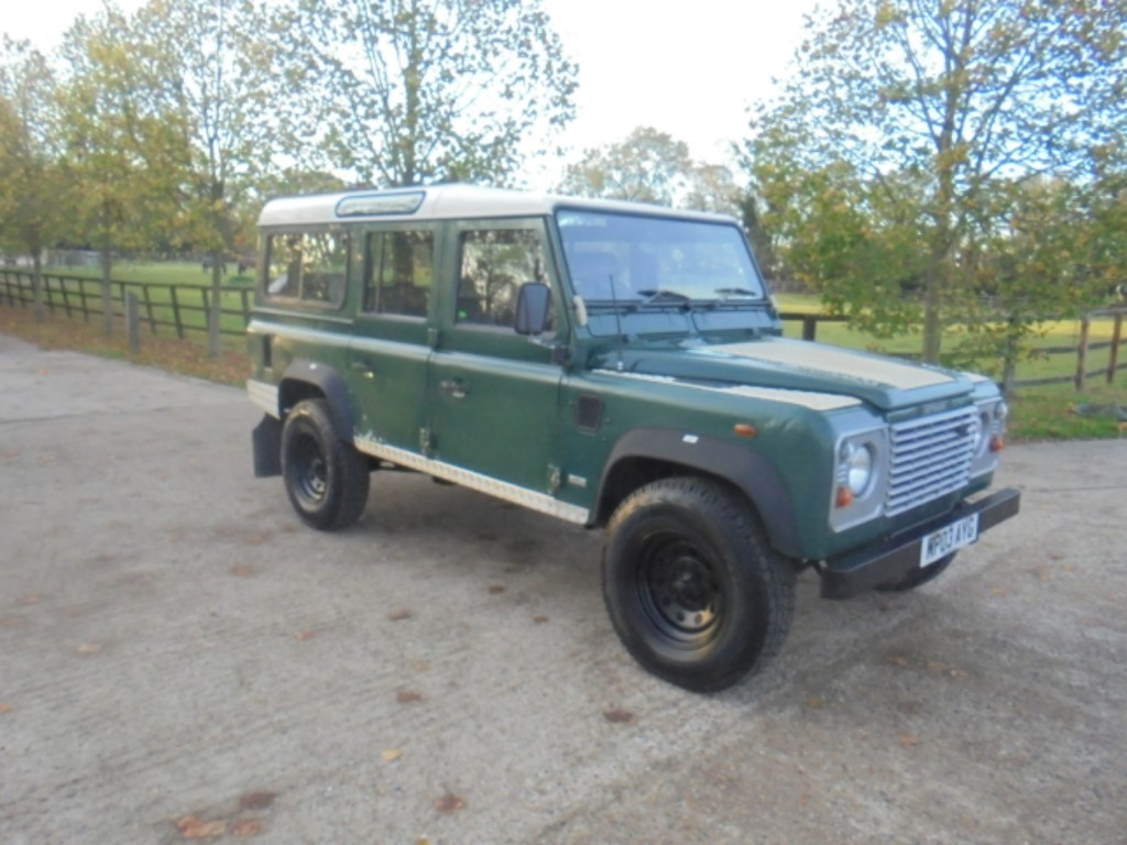 used Land Rover Defender 110 in suffolk