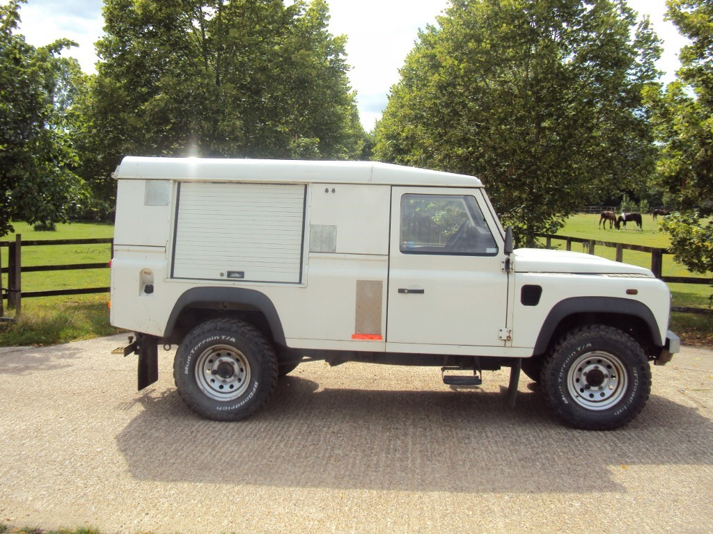 used Land Rover Defender DCB HARD TOP LWB in suffolk