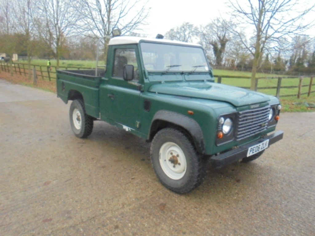 used Land Rover Defender HIGH CAPAC P/U TD5 in suffolk