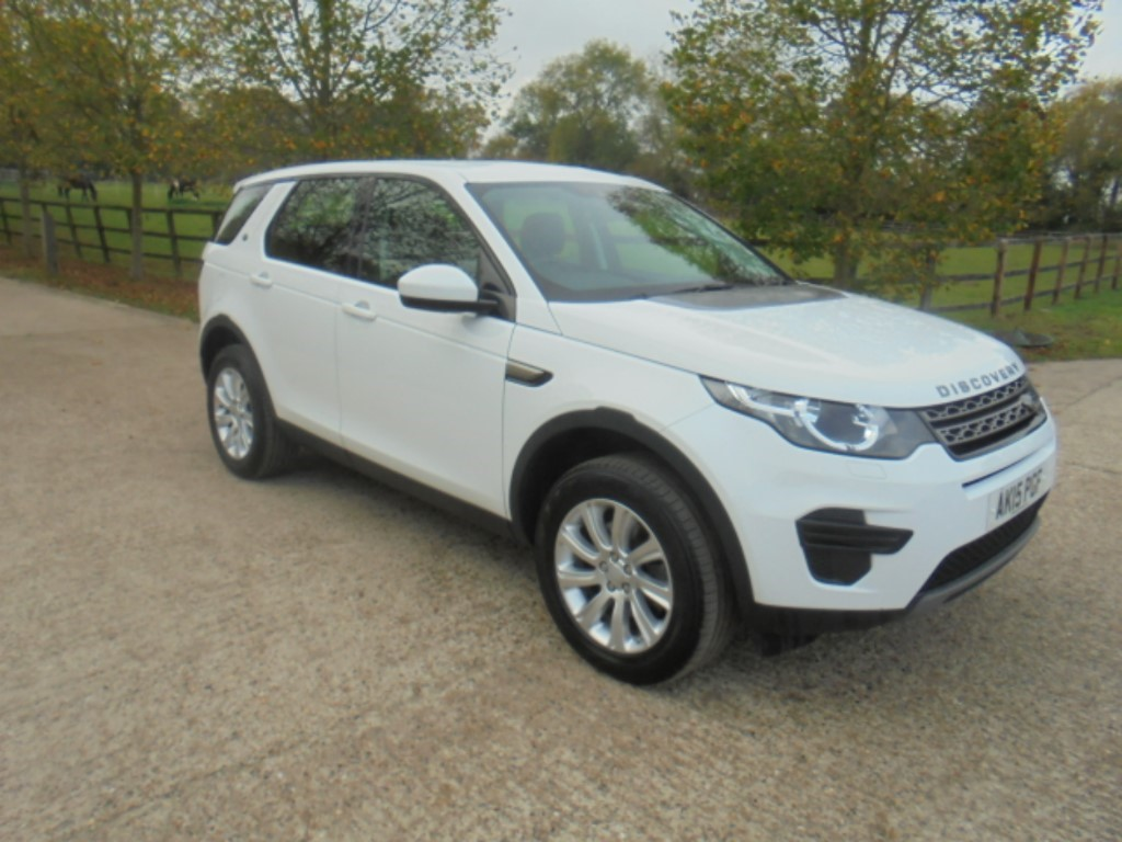 used Land Rover Discovery Sport SD4 SE in suffolk