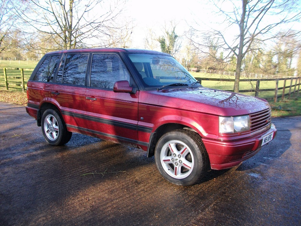used Land Rover Range Rover BORDEAUX in suffolk