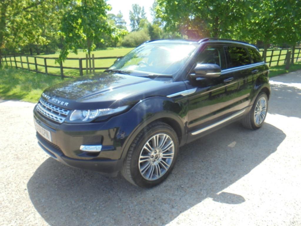 used Land Rover Range Rover Evoque SD4 PRESTIGE in suffolk