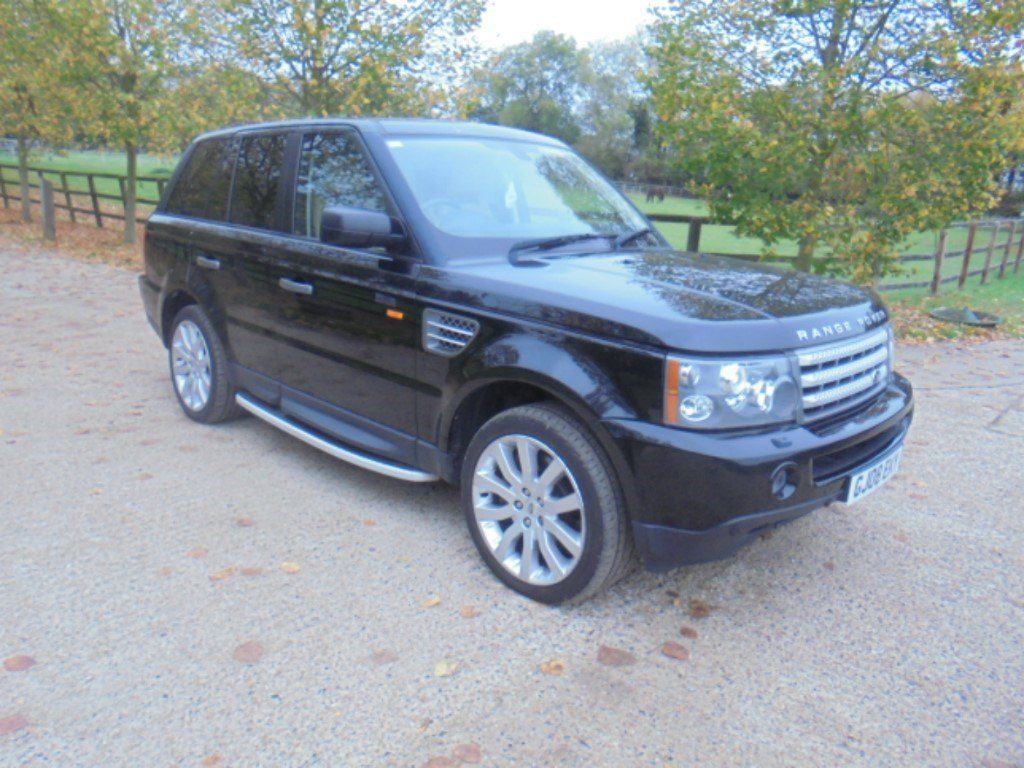 used Land Rover Range Rover Sport TDV6 HSE in suffolk