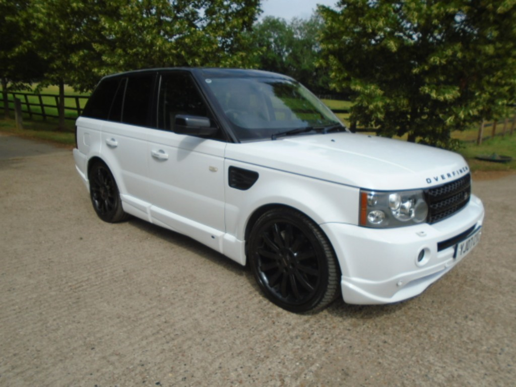 used Land Rover Range Rover OVERFINCH in suffolk