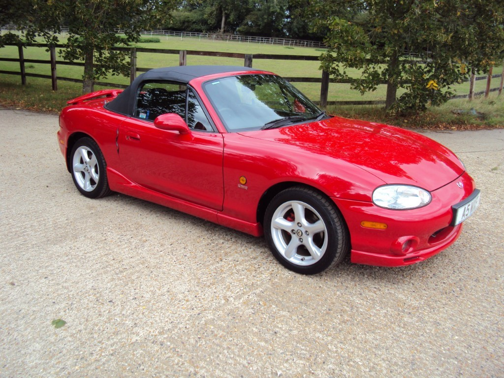 used Mazda MX-5 I SPORT in suffolk