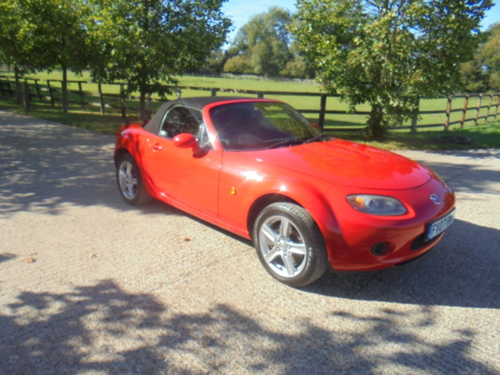 used Mazda MX-5 I in suffolk