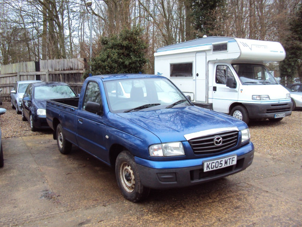 used Mazda  B2500 TD 4X2 SINGLE CAB P/U in suffolk