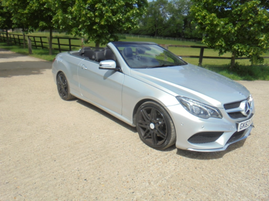 used Mercedes E250 CDI AMG SPORT in suffolk