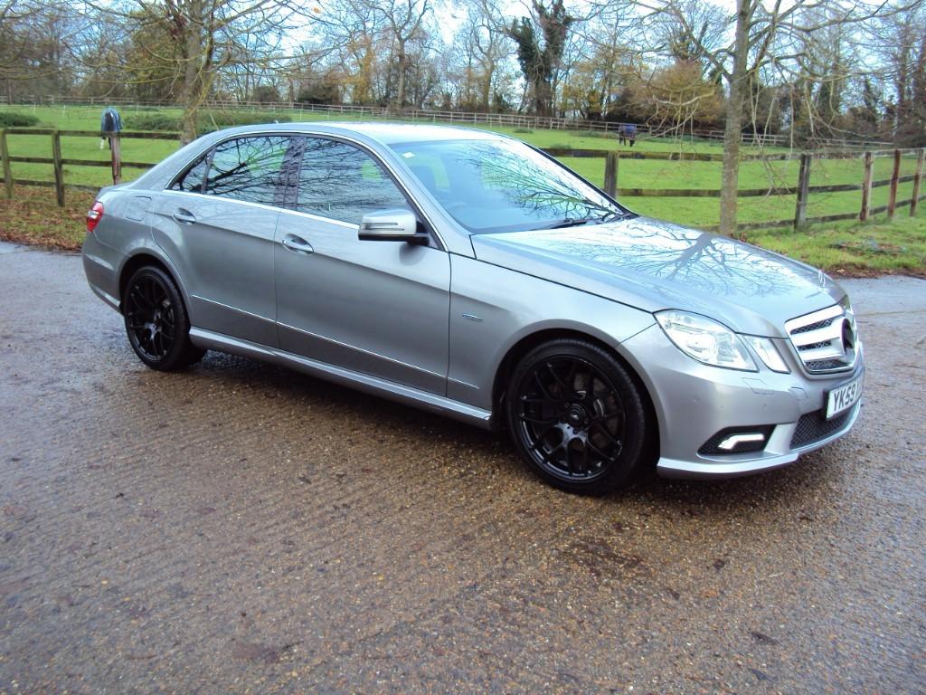 used Mercedes E250 CDI BLUEEFFICIENCY SPORT in suffolk