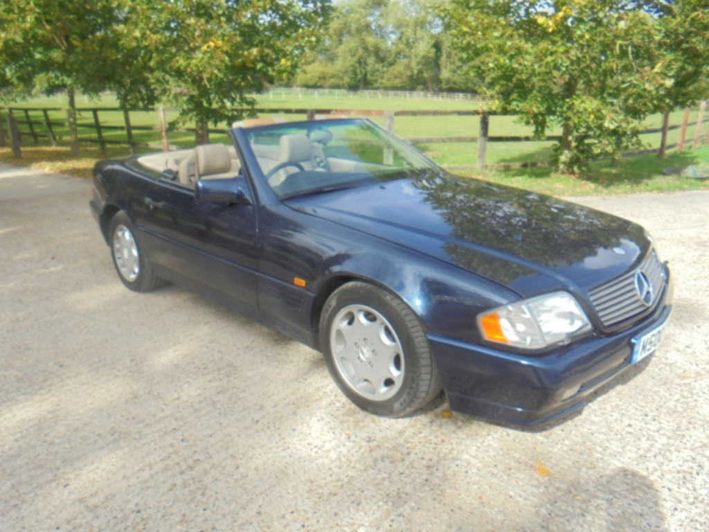 used Mercedes SL SL320 in suffolk