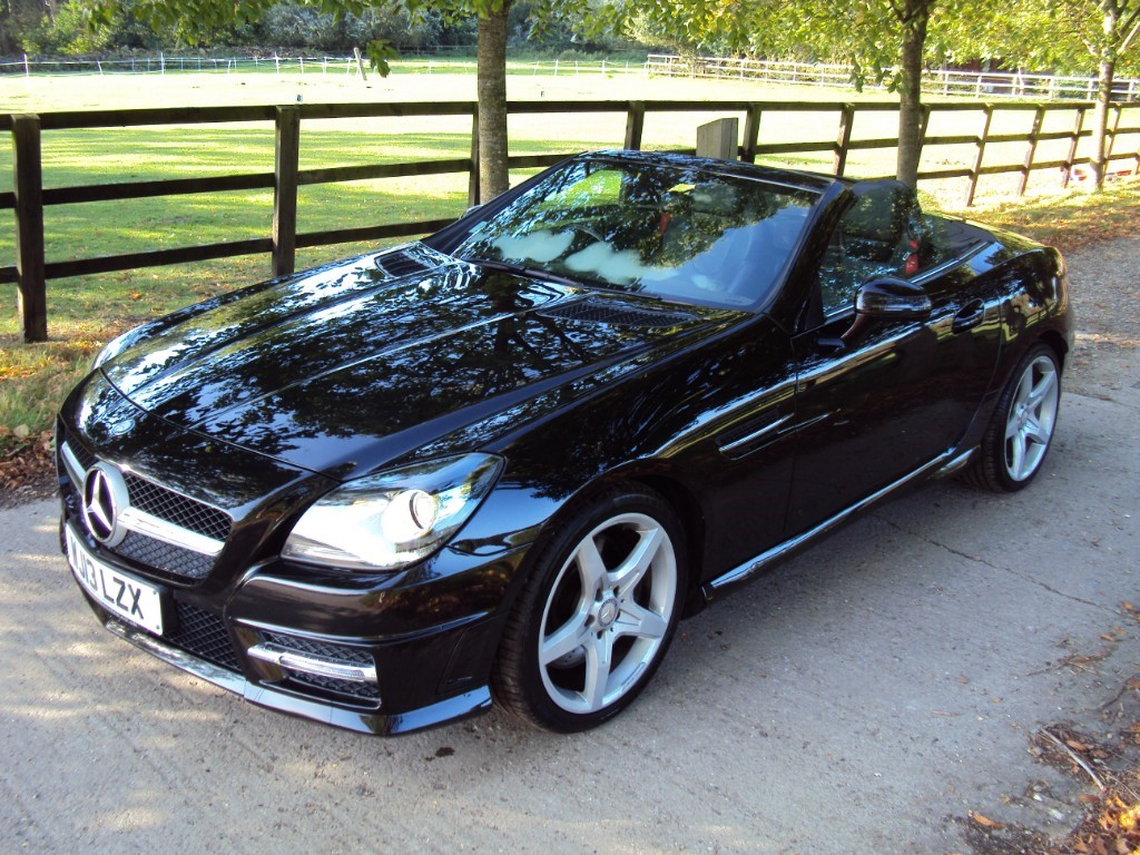 used Mercedes SLK250d SLK250 CDI BLUEEFFICIENCY AMG SPORT in suffolk